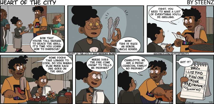 Heart of the City Comic Strip for July 18, 2021