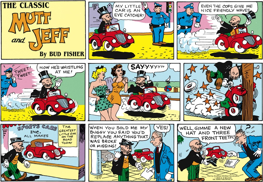 Mutt & Jeff Comic Strip for October 25, 2020