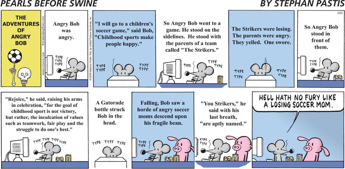 Pearls Before Swine for Feb 22, 2009 Comic Strip