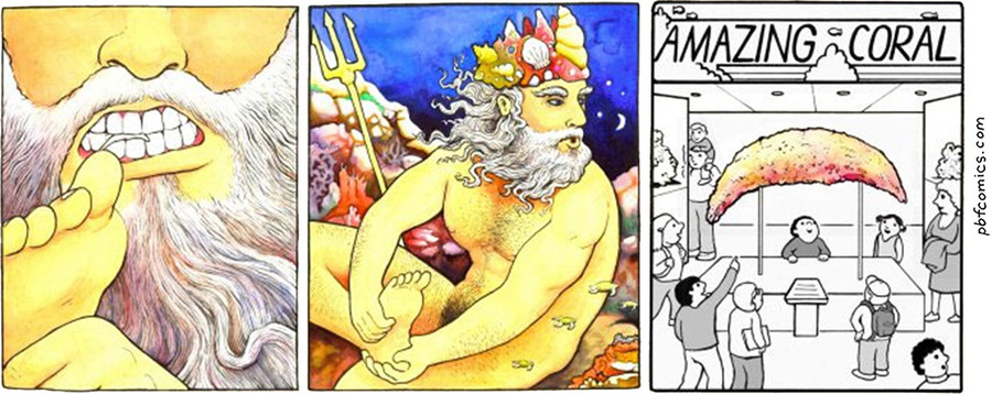 Perry Bible Fellowship by Nicholas Gurewitch for September 17, 2019