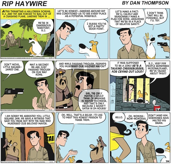 Rip Haywire on Sunday March 21, 2021 Comic Strip