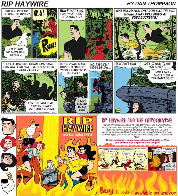 Rip Haywire on Sunday January 28, 2018 Comic Strip