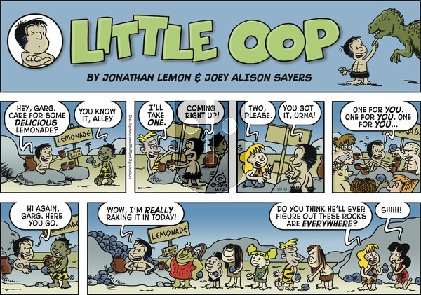 Alley Oop on Sunday November 10, 2019 Comic Strip