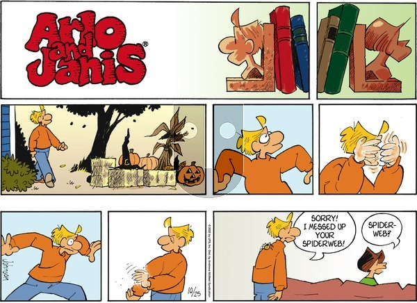 Arlo and Janis on Sunday October 25, 2020 Comic Strip