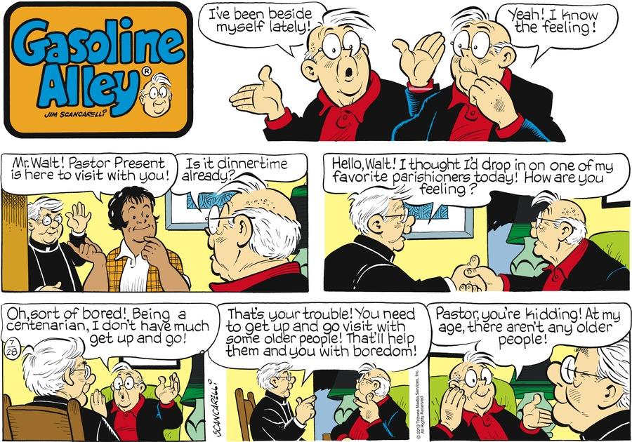 Gasoline Alley for Jul 28, 2013 Comic Strip