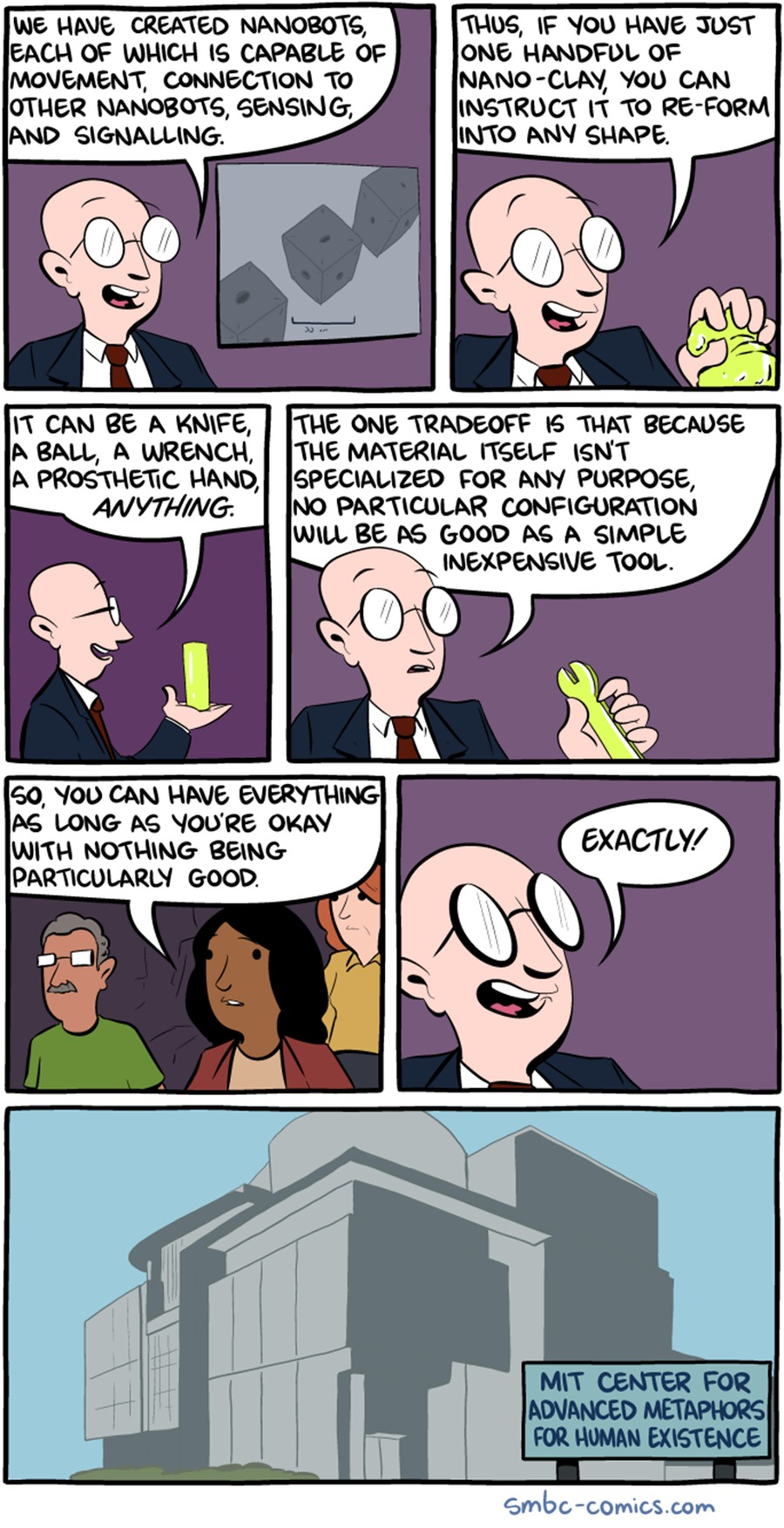 Saturday Morning Breakfast Cereal Comic Strip for May 21, 2017