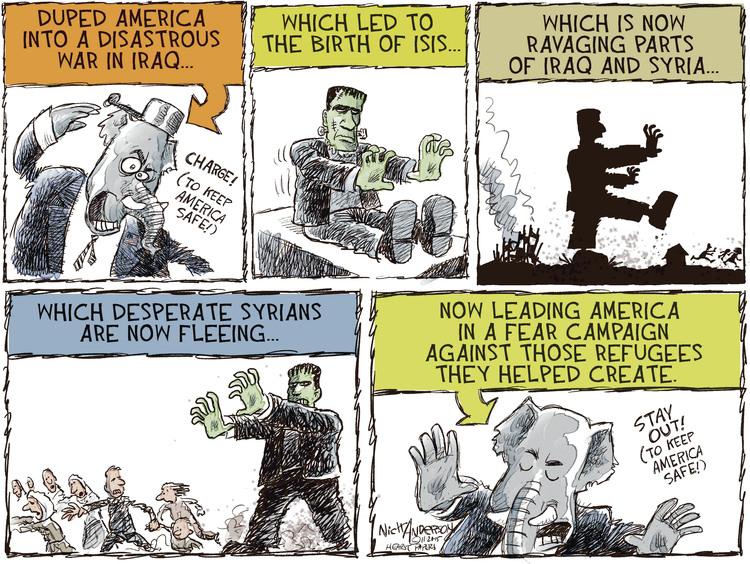 Nick Anderson Comic Strip for November 20, 2015