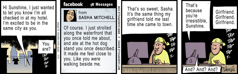 Candorville Comic Strip for October 21, 2019