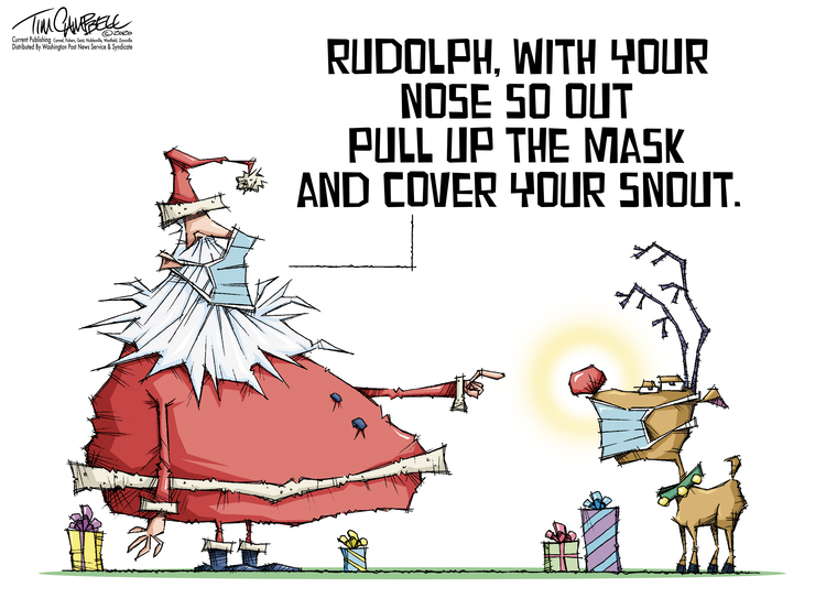 Tim Campbell Comic Strip for December 21, 2020