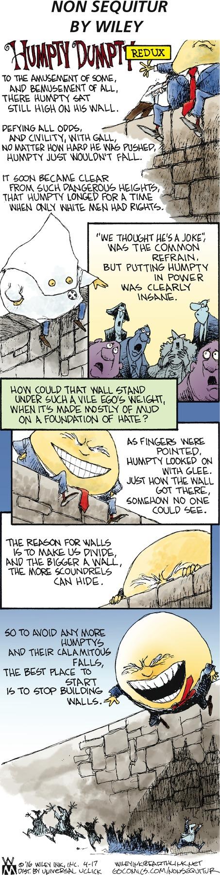 Non Sequitur Comic Strip for April 17, 2016