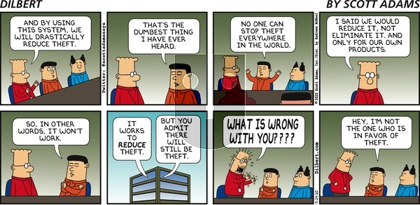 Dilbert on Sunday May 24, 2020 Comic Strip
