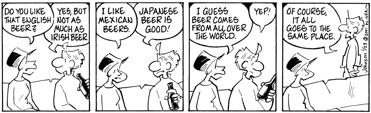 Arlo and Janis Comic Strip for January 23, 2001