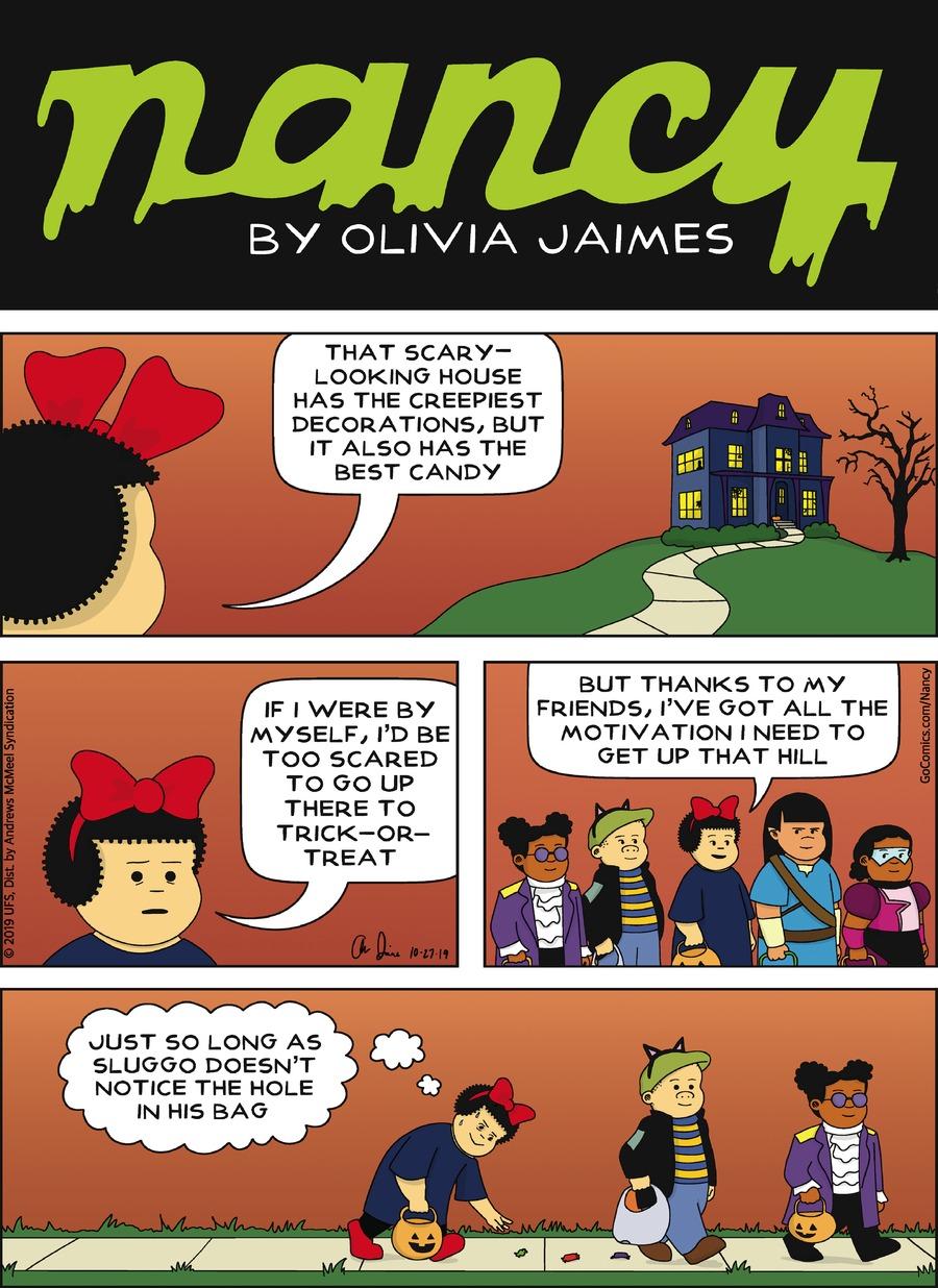 Nancy Comic Strip for October 27, 2019