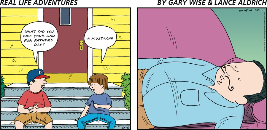 Real Life Adventures Comic Strip for June 16, 2019