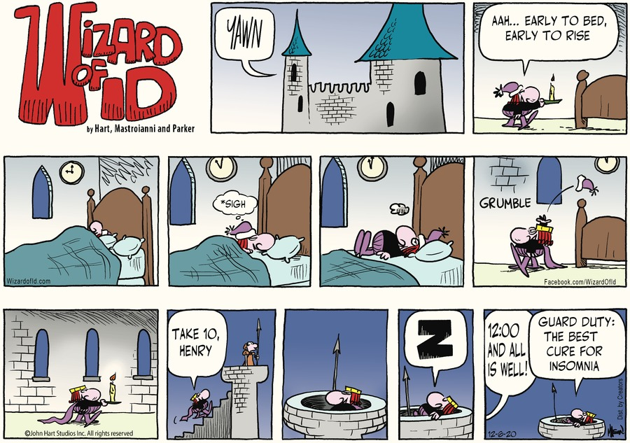 Wizard of Id Comic Strip for December 06, 2020