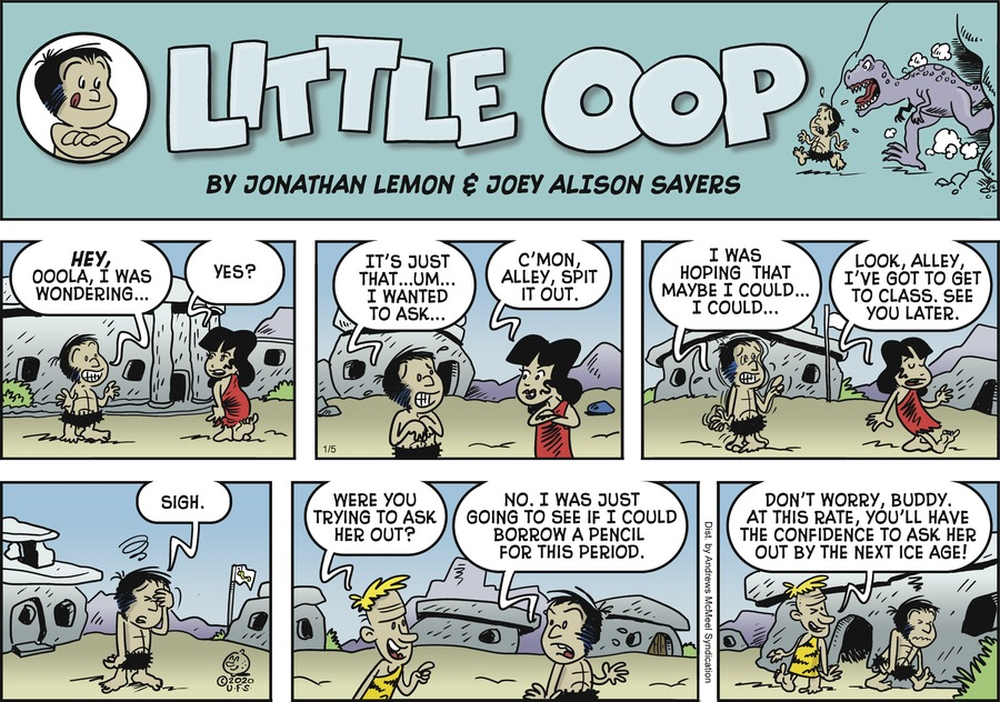 Alley Oop Comic Strip for January 05, 2020
