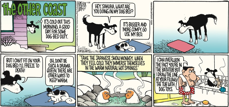 The Other Coast for Jan 20, 2013 Comic Strip
