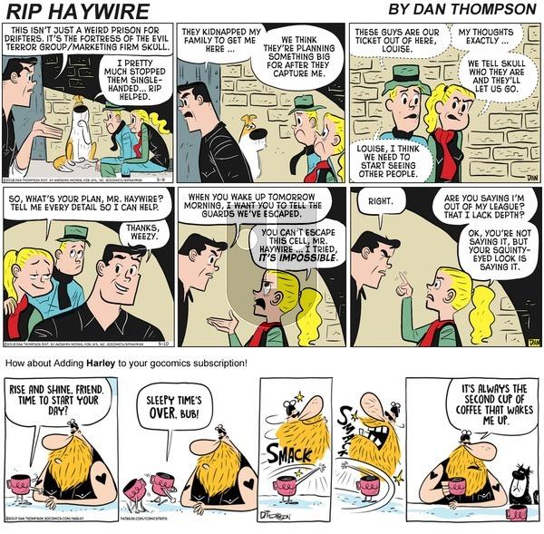 Rip Haywire on Sunday September 20, 2020 Comic Strip