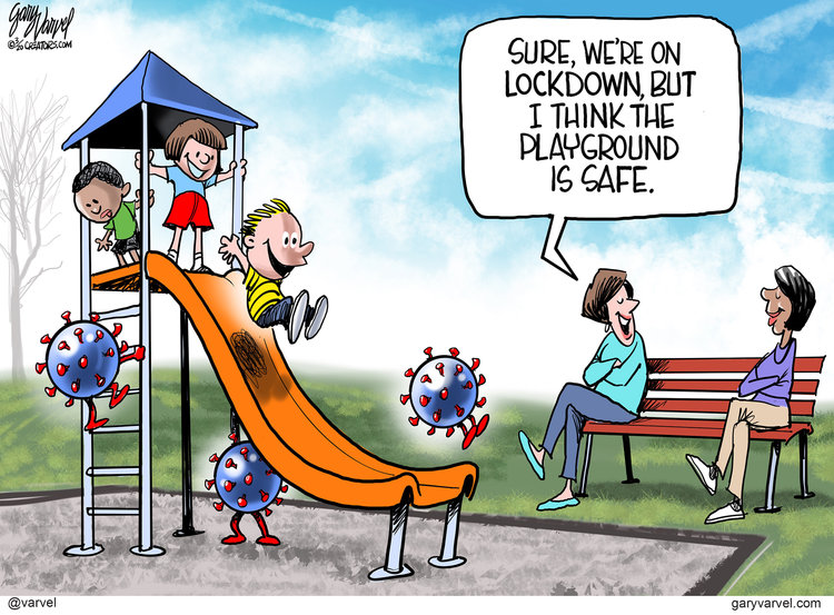 Gary Varvel Comic Strip for March 27, 2020