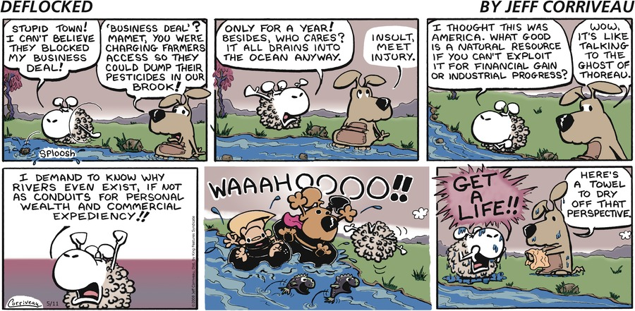 DeFlocked Comic Strip for May 11, 2008