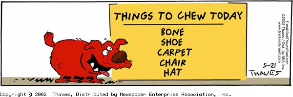 Frank and Ernest Comic Strip for May 21, 2002