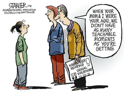 Jeff Stahler on Sunday September 23, 2018 Comic Strip