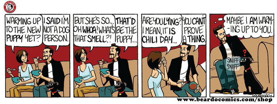 Beardo Comic Strip for June 18, 2019
