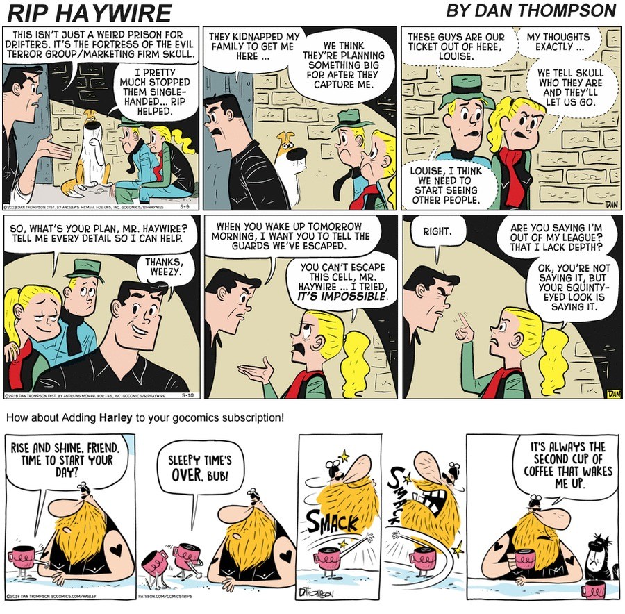 Rip Haywire Comic Strip for September 20, 2020
