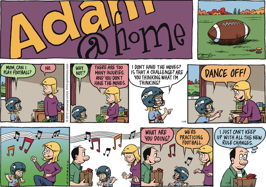 Adam@Home Comic Strip for November 09, 2014