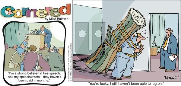 Cornered on Sunday May 26, 2019 Comic Strip