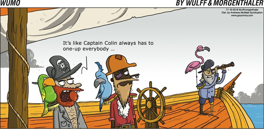 WuMo Comic Strip for July 01, 2018