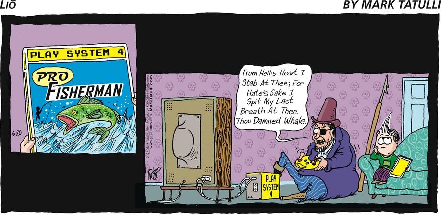 Lio Comic Strip for June 20, 2021