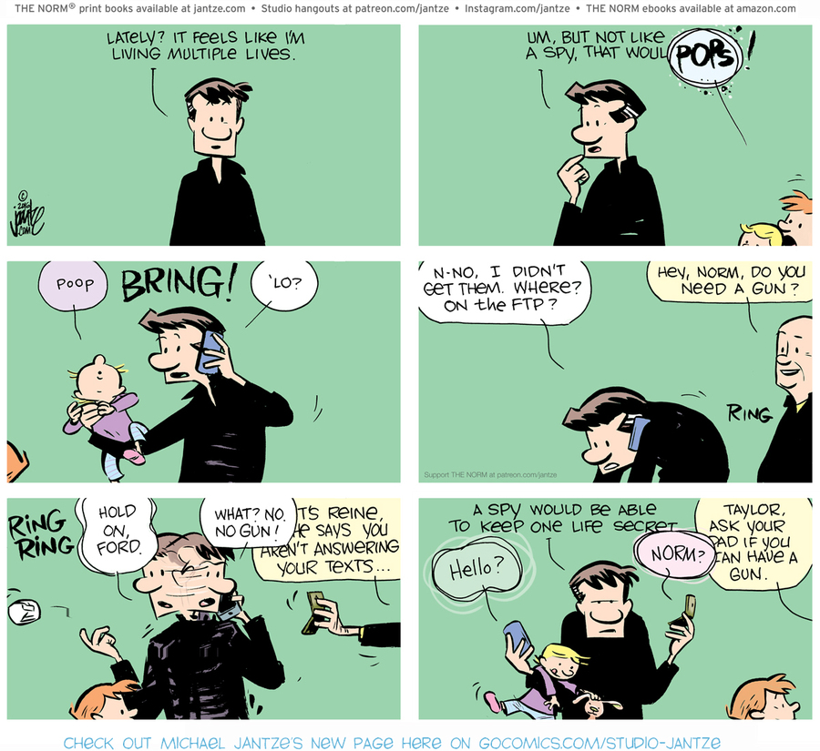 The Norm Classics Comic Strip for July 25, 2021