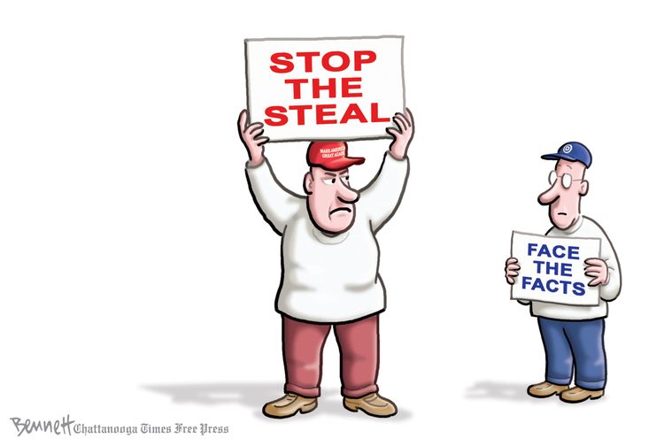 Clay Bennett Comic Strip for November 28, 2020