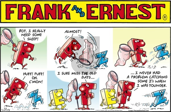 Frank and Ernest on Sunday September 8, 2019 Comic Strip
