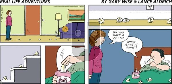 Real Life Adventures on Sunday December 16, 2018 Comic Strip