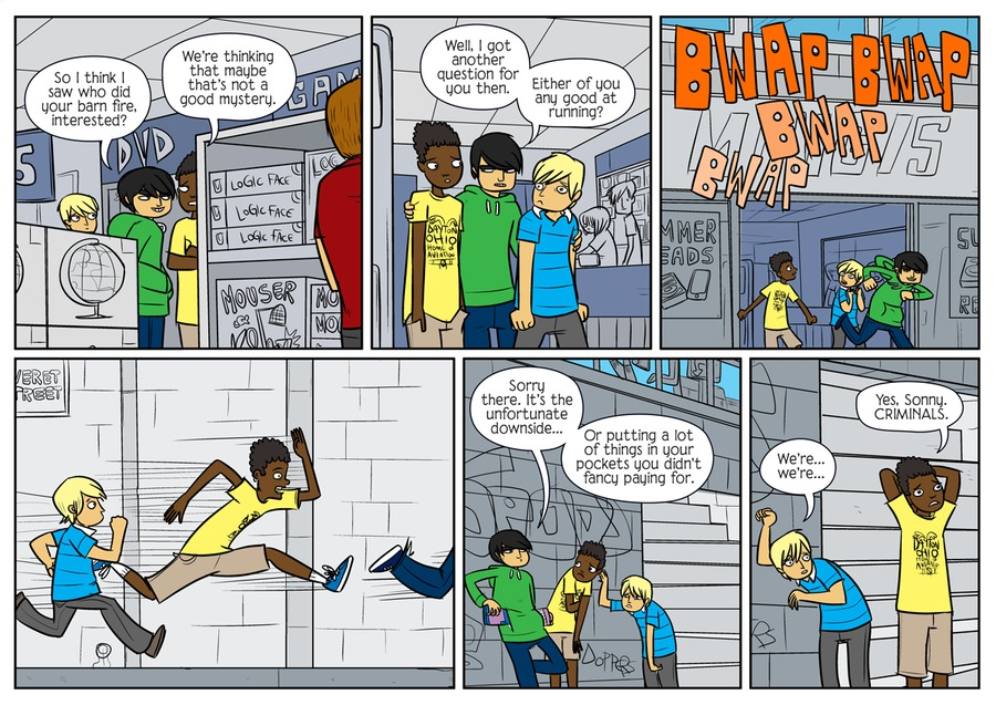Bad Machinery by John Allison on Tue, 25 May 2021