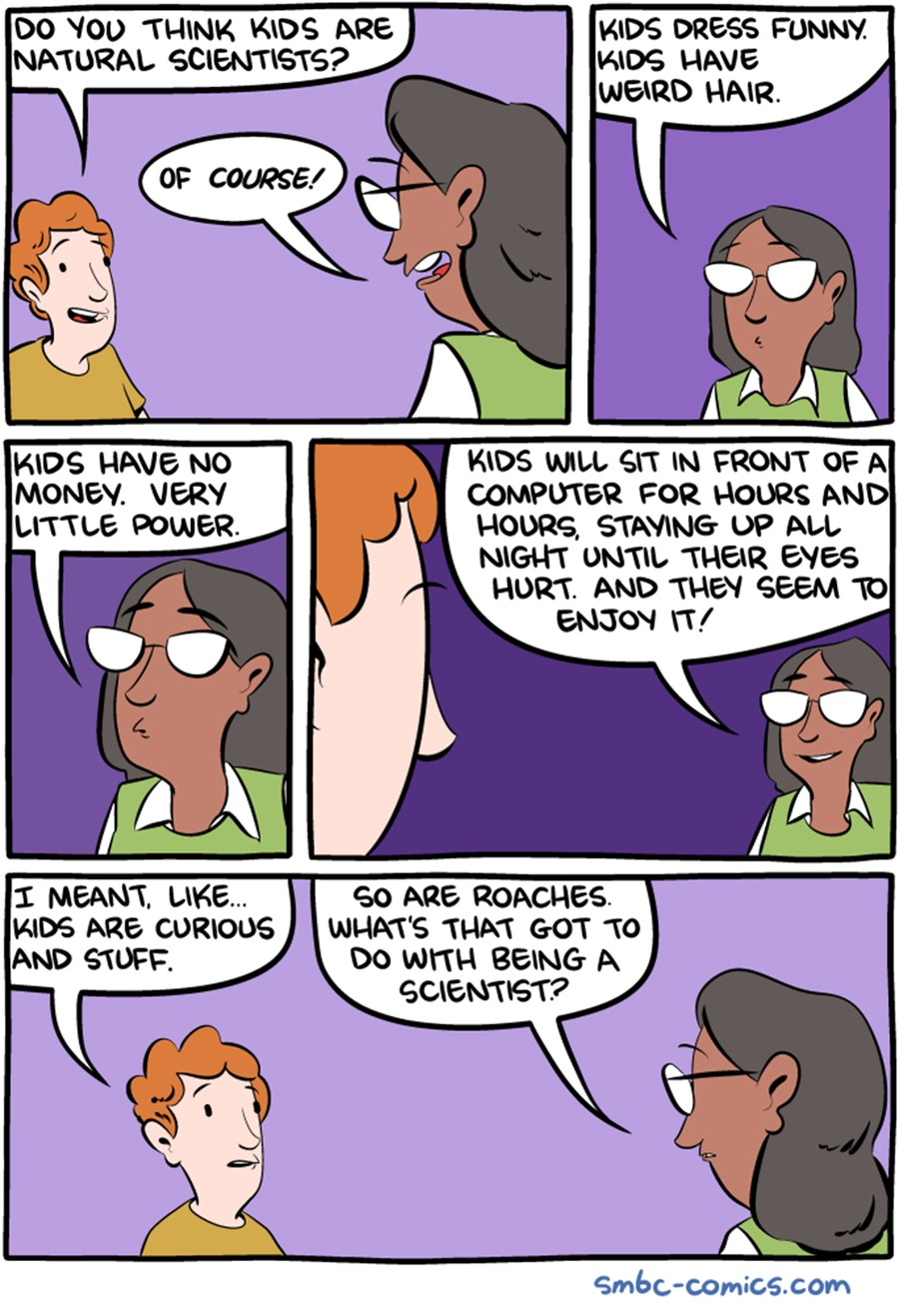Saturday Morning Breakfast Cereal Comic Strip for September 24, 2017