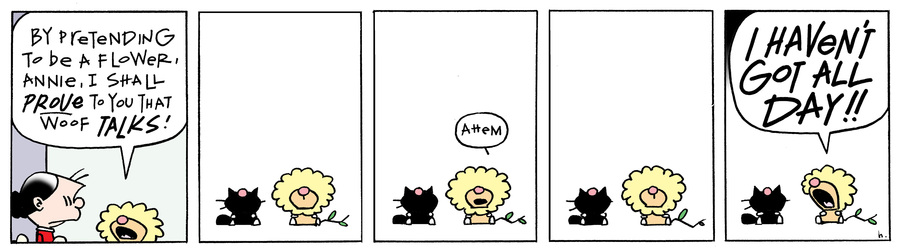 Ten Cats Comic Strip for March 20, 2015