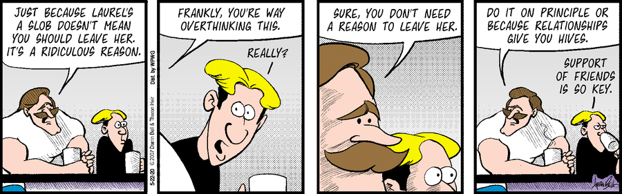 Rudy Park Comic Strip for May 22, 2020