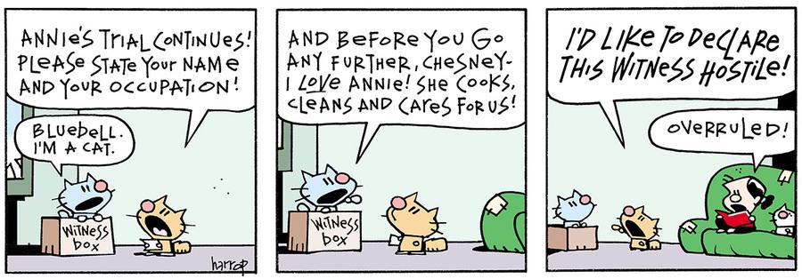 Ten Cats for Mar 15, 2013 Comic Strip