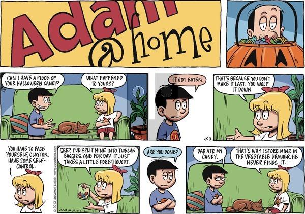 Adam@Home on Sunday November 3, 2013 Comic Strip