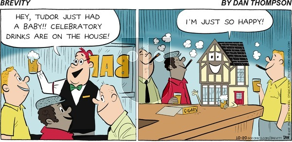 Brevity on Sunday October 20, 2019 Comic Strip