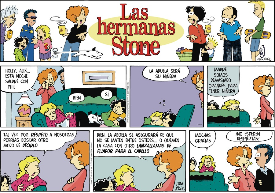 Las Hermanas Stone Comic Strip for October 04, 2020