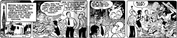 Alley Oop - Tuesday April 11, 1939 Comic Strip