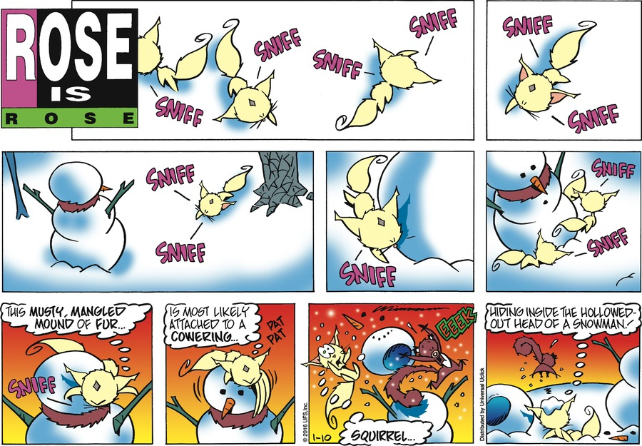 Rose is Rose Comic Strip for January 10, 2016