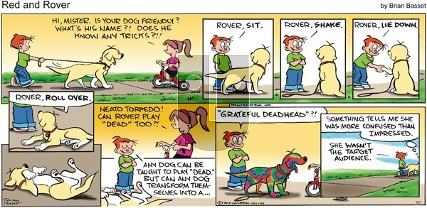 Red and Rover on Sunday June 21, 2015 Comic Strip