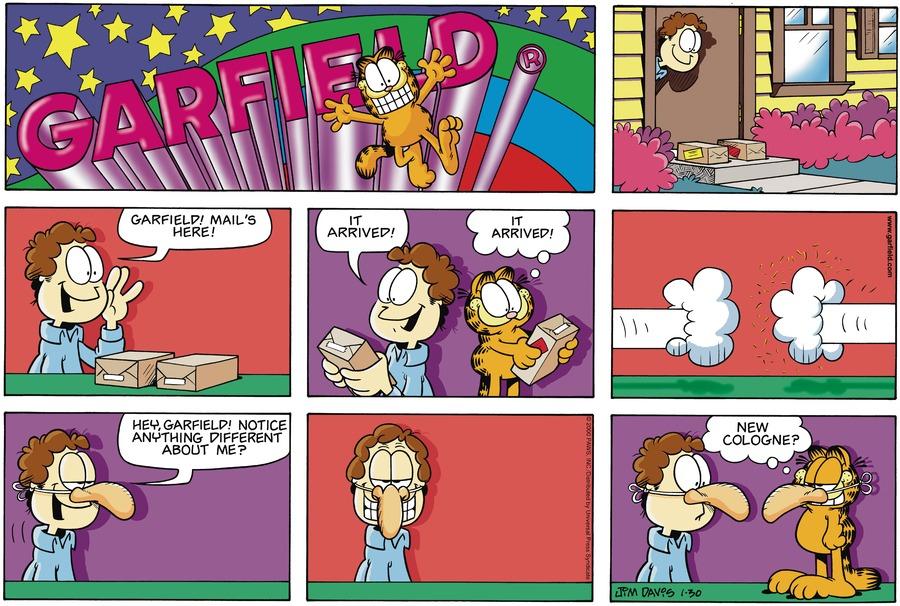 Garfield Comic Strip for January 30, 2000
