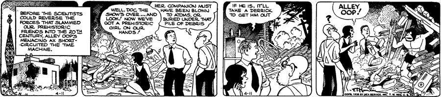 Alley Oop Comic Strip for April 11, 1939