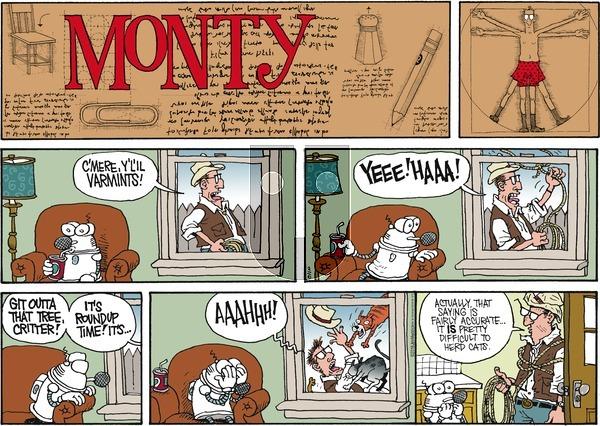 Monty on Sunday March 6, 2016 Comic Strip
